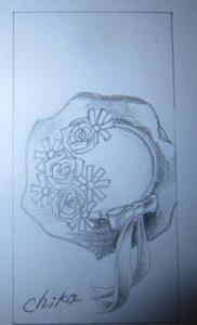 手描きデザイン(帽子)