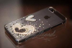 iPhone5・5sケース(部分デコ)