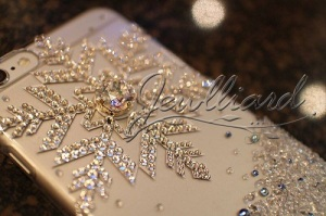 iPhone6ケース(アナと雪の女王風)