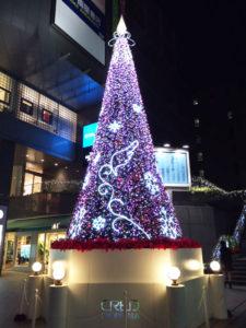 クレド岡山クリスマスツリー