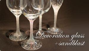 ワイングラスデコレーション