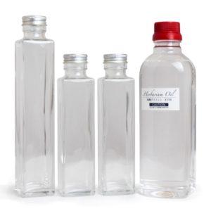 ハーバリウムオイル&瓶セット